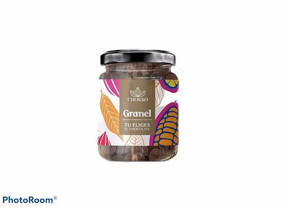 Chocolate amargo 70% cacao para cocinar 300 gr