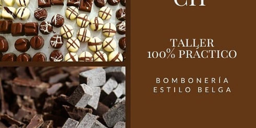 Taller bomboneria y el origen del cacao!