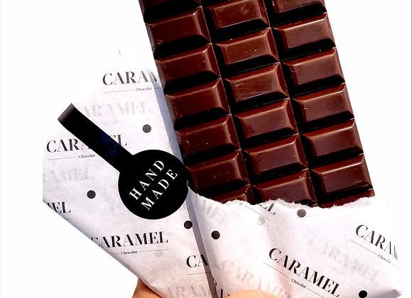 Tableta de chocolate Bitter 70% cacao puro 80 gr