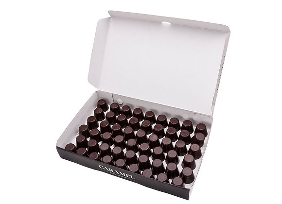 Vasitos de chocolate para licor o mousse caja 50 unidades