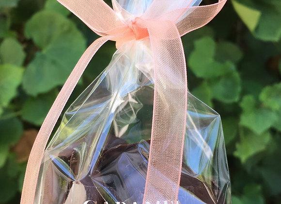 Damascos con chocolate