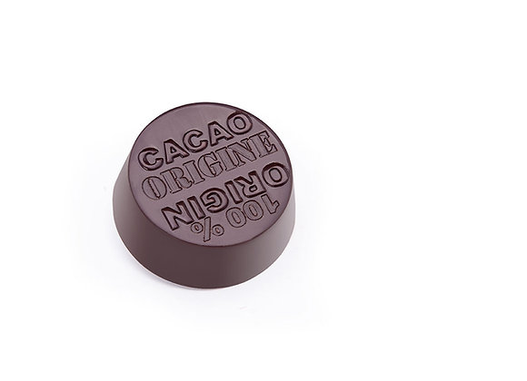 Bombon ganache bitter 70% cacao granel 50 grs