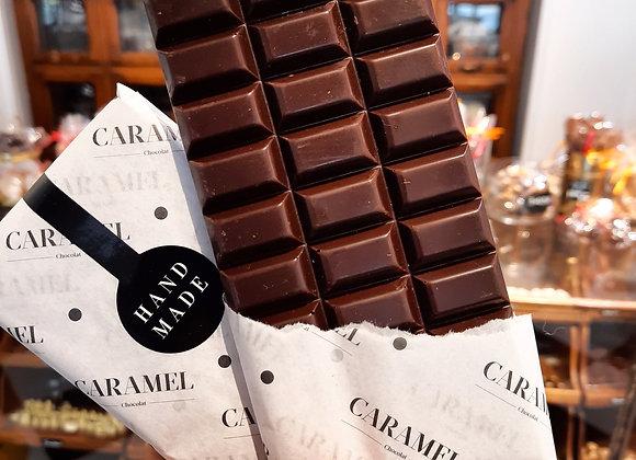 Tableta de chocolate Bitter Sin azúcar 54%cacao  80 gr