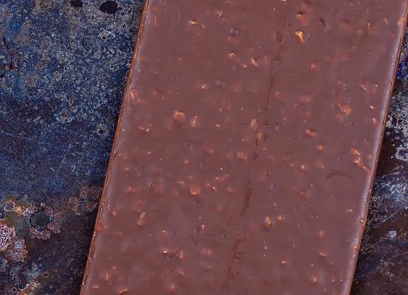 Tableta de chocolate de leche Sin azúcar  y Manzana canela 80 gr