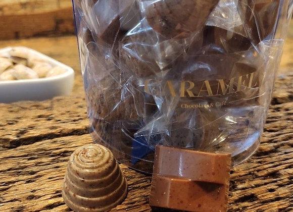 33 Bombones rellenos de Capuccino y Galleta caramelizada