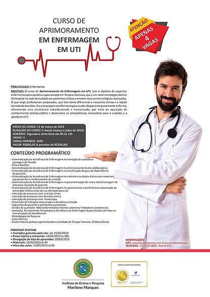 Curso de Aprimoramento em Enfermagem UTI