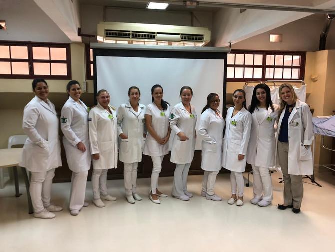 Início da 2ª turma do curso de Aprimoramento em Enfermagem