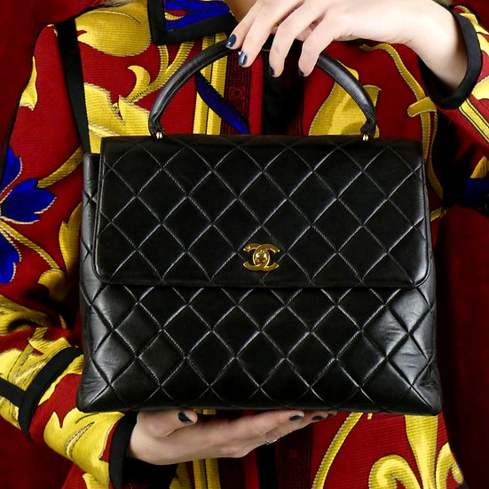 Vintage Chanel Kelly Handbag