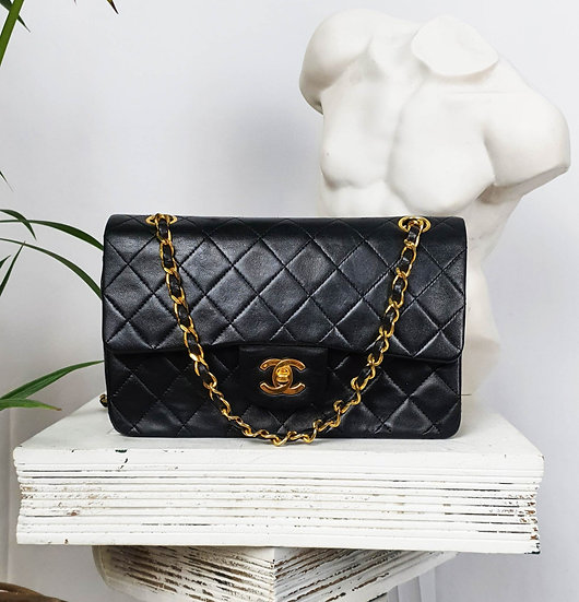 Vintage Chanel 2.55 Small Double Flap