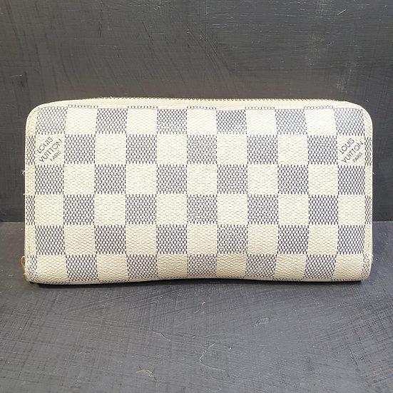 Louis Vuitton Damier Azure Zippy Wallet