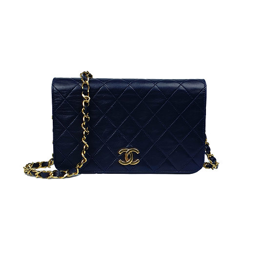 Chanel Classic Lambskin Chain Mini Full Flap Bag 19
