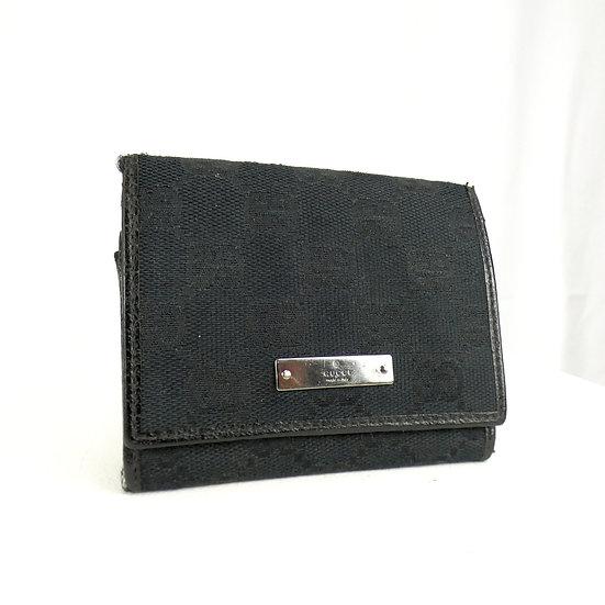 Gucci Monogram Coin/Card Purse