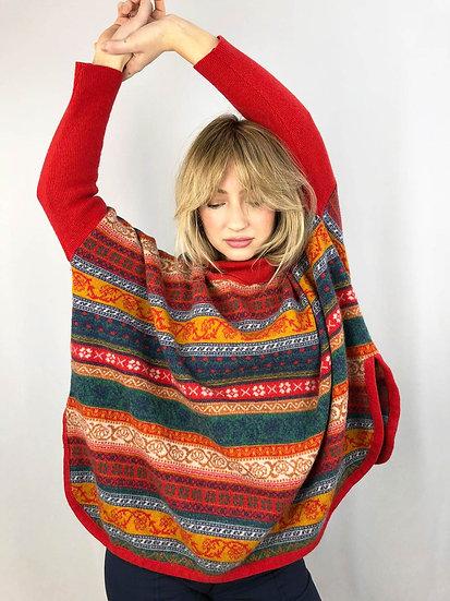 Laura Biagiotti Poncho Style Jumper