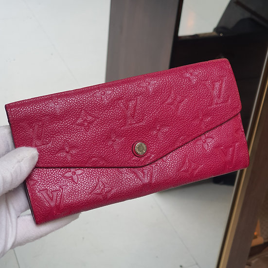Louis Vuitton Cuires Sarah Wallet