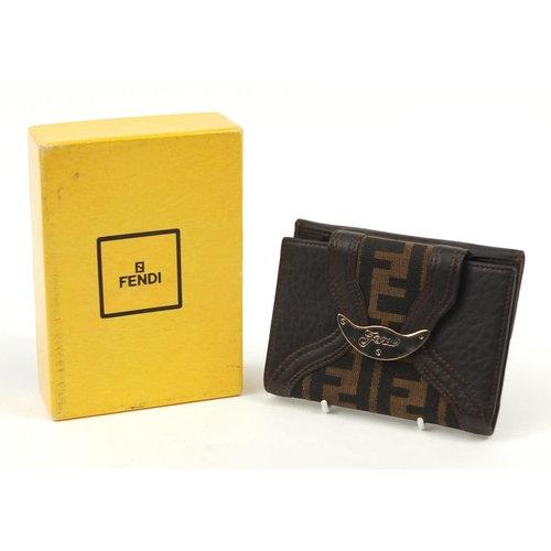 Fendi Monogram Zucca Wallet