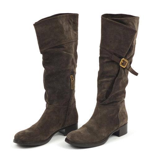 Prada Suede High Boots