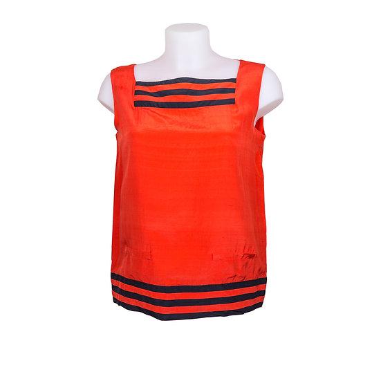 Valentino Sleeveless Red Summer Top