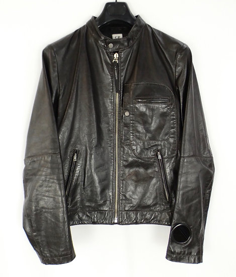 CP Company Leather Biker Jaket