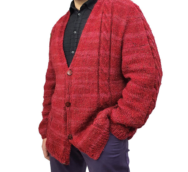 Valentino Knitted Cable Cardigan