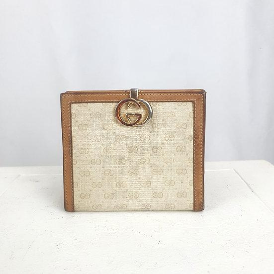 1970s Gucci Monogram Wallet