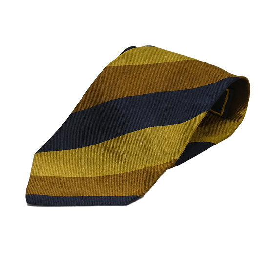 Fendi Gold & Navy Tie