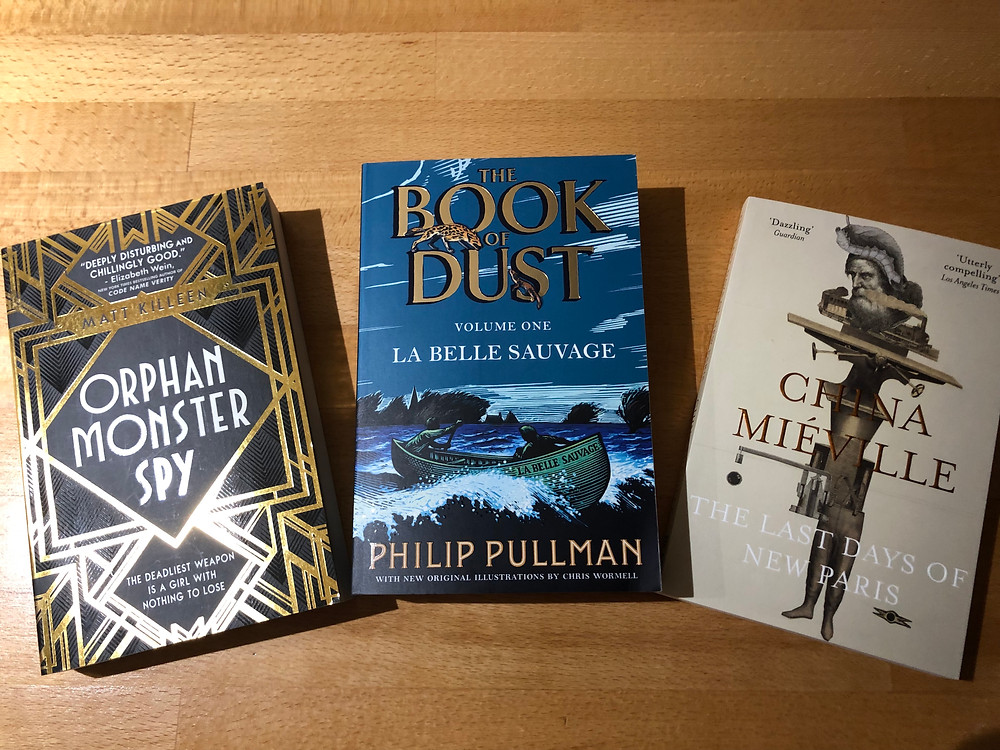 Attractive book covers, e.g by Philip Pullman
