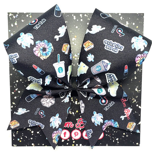 Black Stickers Bow