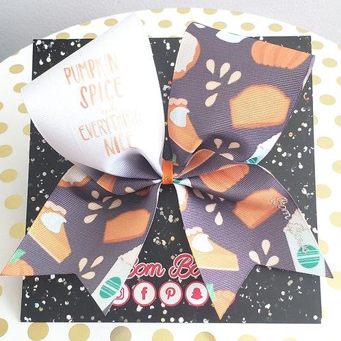 Pumpkin Spice Bow