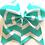 Thumbnail: Chevron Bow (5 colors)