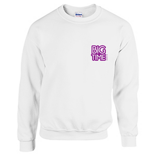 Big Time Crew Neck Hoodie - Youth