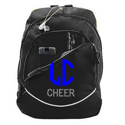 LC Glitter & Rhinestone Backpack