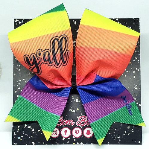 Rainbow 🌈 Y'all Bow