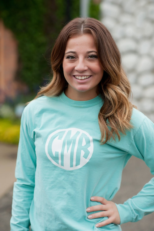 Large Circle Monogram Long Sleeve