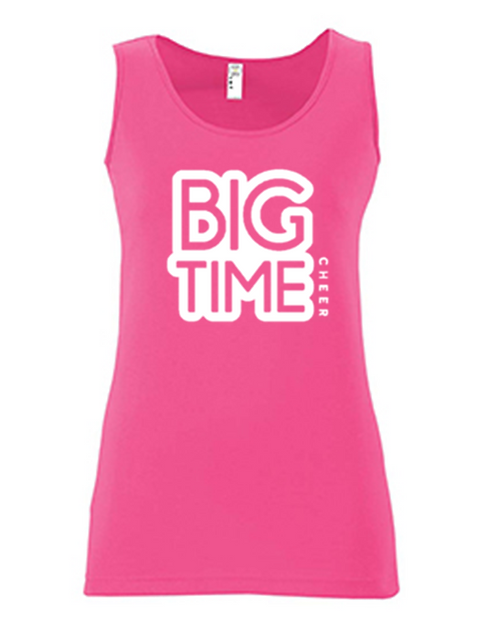 Big Time Neon Tank - Adult