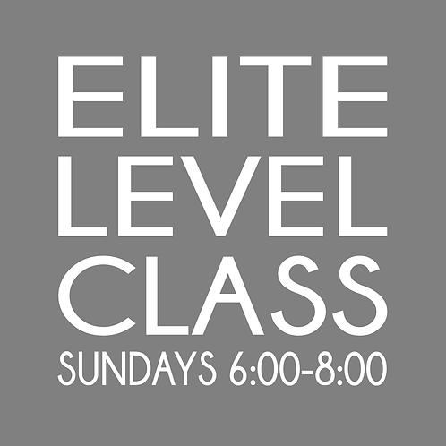 Elite Level Class - 4 Weeks