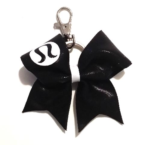 Black LuLu Key Chain Bow