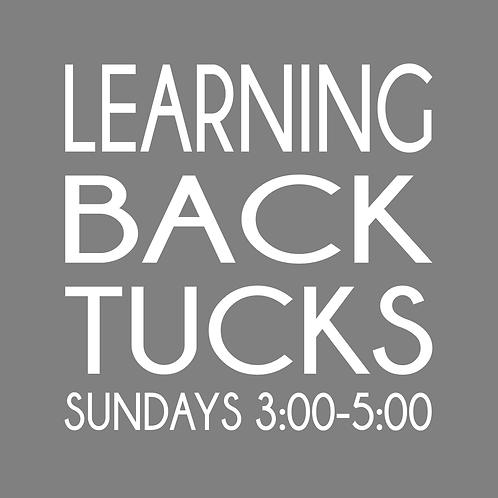 Learning Back Tucks Class - 4 Weeks
