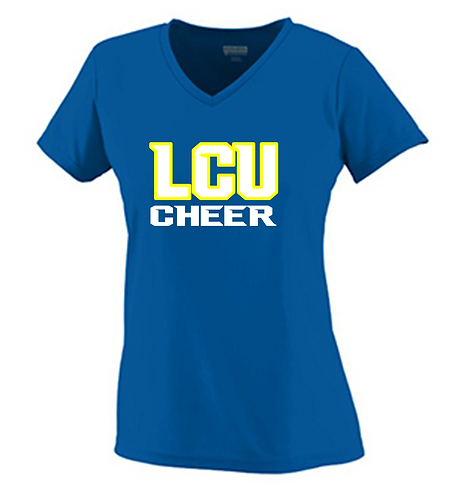 LCU Cheer V Neck