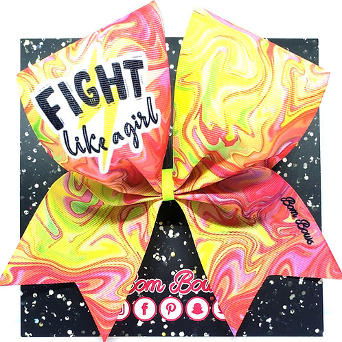 Fight Like A Girl Bow