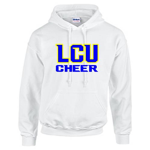 LCU Cheer Rhinestone Hoodie
