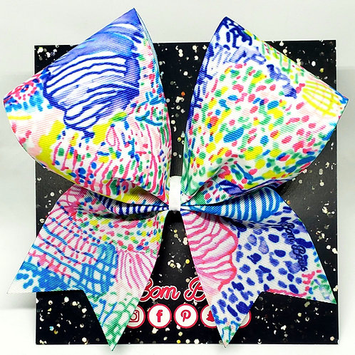 Sea Floral Bow
