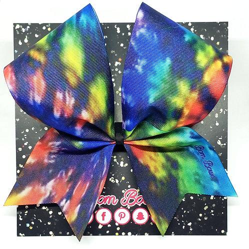 Rainbow 🌈 Tie Dye Bow