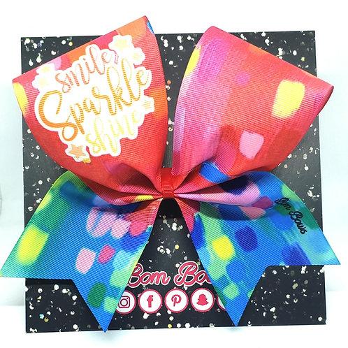 Smile Sparkle Shine Bow