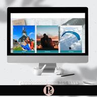 Site desenvolvido para agencia de turismo Rose Olegário Viagens & Turismo