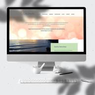 Site desenvolvido para a terapeuta, facilitadora e professora holística Carla Sanchez.