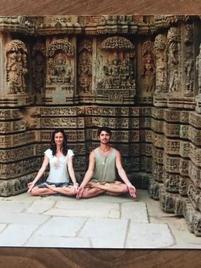 Templo hindu perto de Mysore