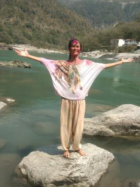 Holi em Rishikesh