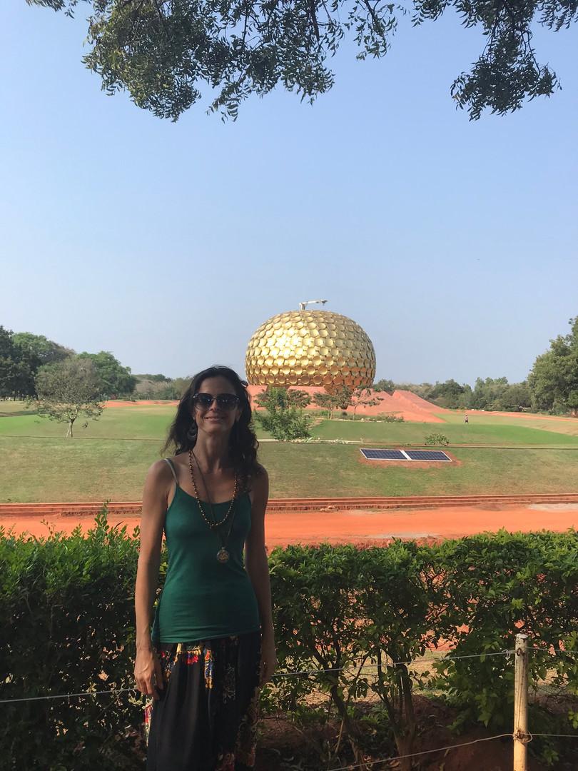 Auroville, sul da Índia