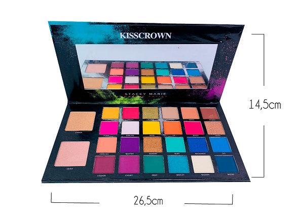 Paleta de Sombras Carnival 24 TN Mix Kiss Crown