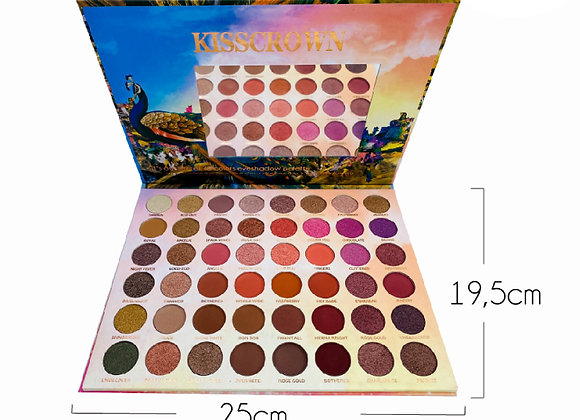 Paleta de Sombras Fav Mix 48 TN Kiss Crown